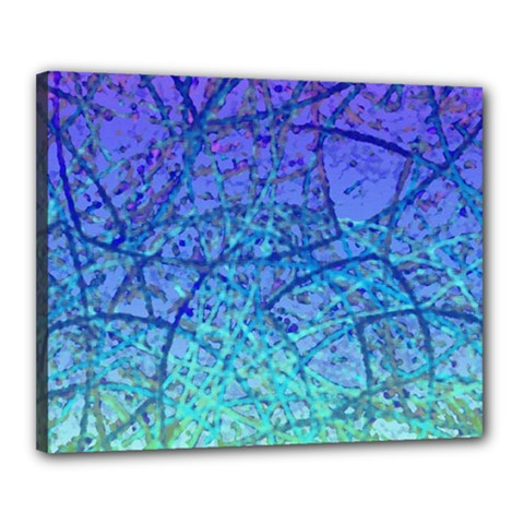 Grunge Art Abstract G57 Canvas 20  x 16  (Stretched)
