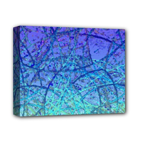 Grunge Art Abstract G57 Deluxe Canvas 14  X 11  (stretched)