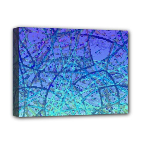 Grunge Art Abstract G57 Deluxe Canvas 16  x 12  (Stretched)