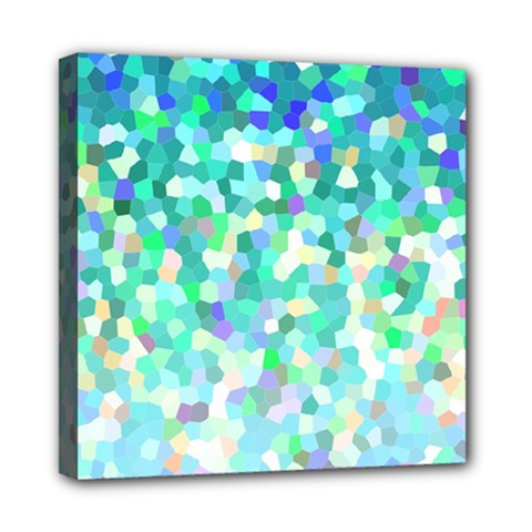 Mosaic Sparkley 1 Mini Canvas 8  x 8  (Framed)