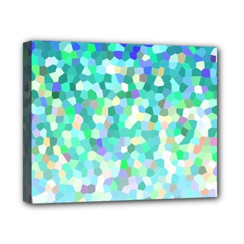 Mosaic Sparkley 1 Canvas 10  x 8  (Framed)