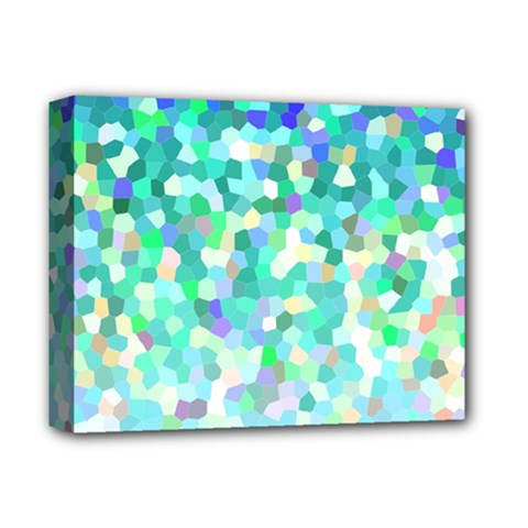 Mosaic Sparkley 1 Deluxe Canvas 14  x 11  (Framed)