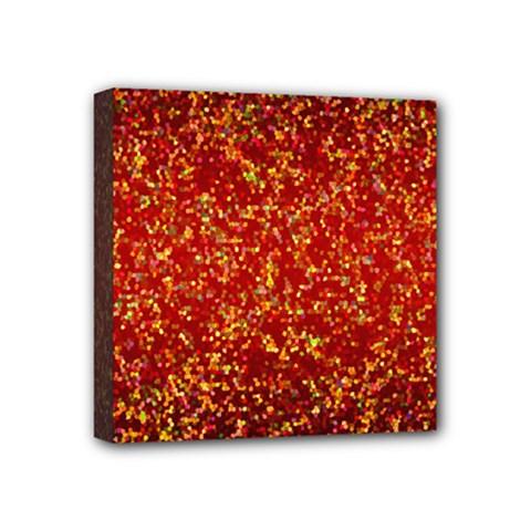 Glitter 3 Mini Canvas 4  x 4  (Framed)