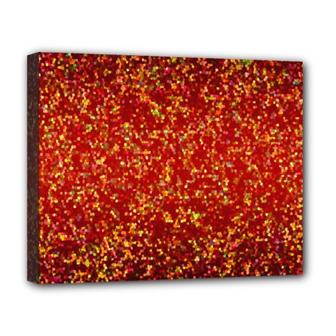 Glitter 3 Deluxe Canvas 20  X 16  (framed)