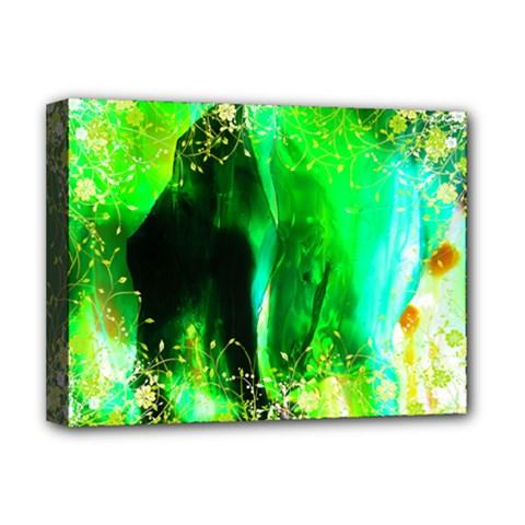 pluke Deluxe Canvas 16  x 12  (Framed)
