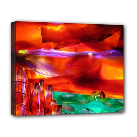 Pluke  Deluxe Canvas 20  X 16  (framed)