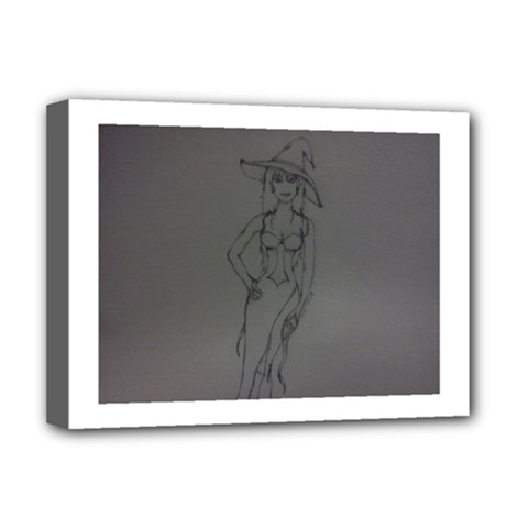 Witchy Deluxe Canvas 16  x 12  (Framed)