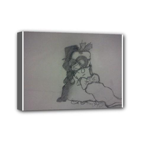 Wedding Day Mini Canvas 7  X 5  (framed)
