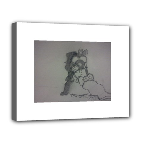 Wedding Day Deluxe Canvas 20  X 16  (framed)