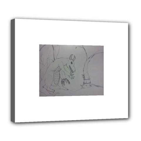 Sacrifice Deluxe Canvas 24  X 20  (framed)