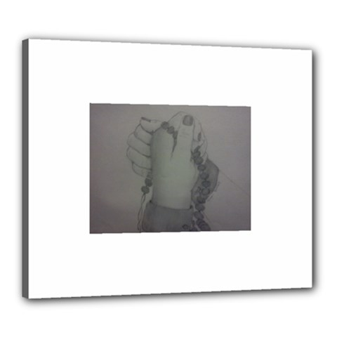 Divinity Canvas 24  x 20  (Framed)