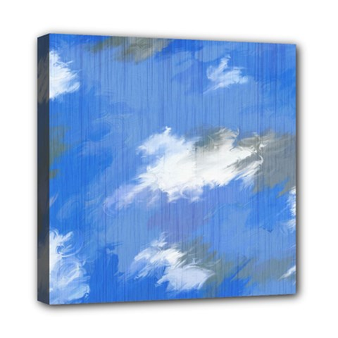 Abstract Clouds Mini Canvas 8  x 8  (Framed)