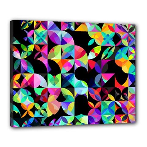 A Million Dollars Canvas 20  X 16  (framed)