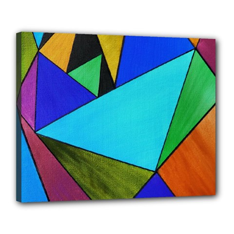 Abstract Canvas 20  x 16  (Framed)