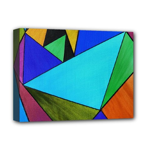 Abstract Deluxe Canvas 16  x 12  (Framed)
