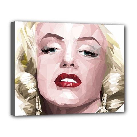 Marilyn Canvas 14  x 11  (Framed)