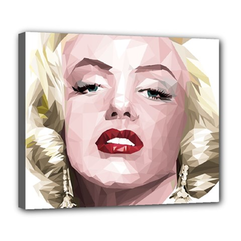 Marilyn Deluxe Canvas 24  x 20  (Framed)