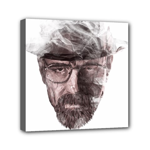 Heisenberg  Mini Canvas 6  x 6  (Framed)