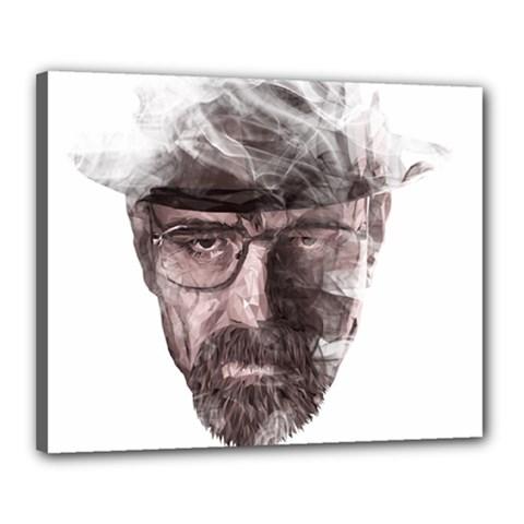 Heisenberg  Canvas 20  X 16  (framed)