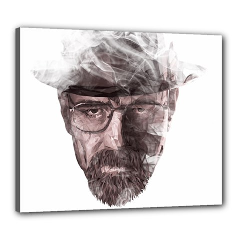 Heisenberg  Canvas 24  x 20  (Framed)