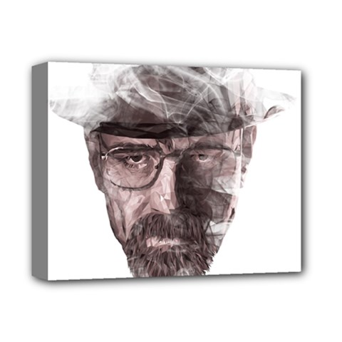 Heisenberg  Deluxe Canvas 14  x 11  (Framed)