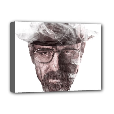 Heisenberg  Deluxe Canvas 16  X 12  (framed)