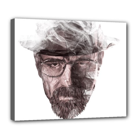 Heisenberg  Deluxe Canvas 24  x 20  (Framed)