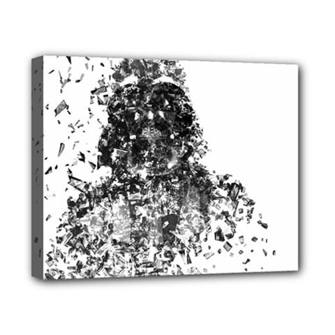 Darth Vader Canvas 10  x 8  (Framed)
