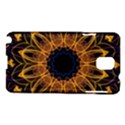 Yellow Purple Lotus Mandala Samsung Galaxy Note 3 N9005 Hardshell Case View1