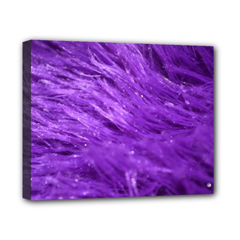 Purple Tresses Canvas 10  x 8  (Framed)