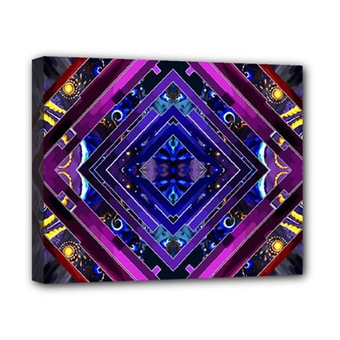 Galaxy Canvas 10  x 8  (Framed)