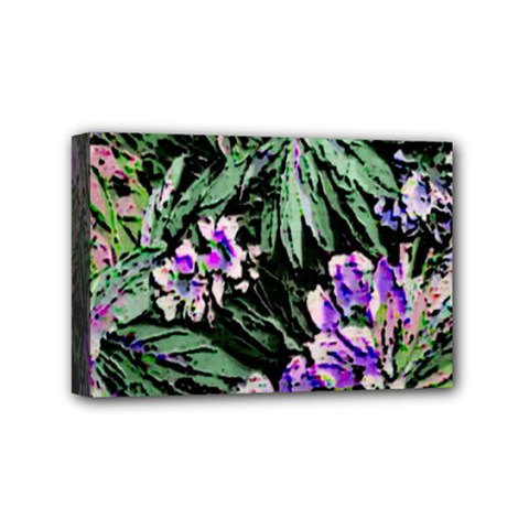 Garden Greens Mini Canvas 6  x 4  (Framed)
