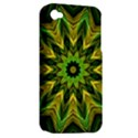 Woven Jungle Leaves Mandala Apple iPhone 4/4S Hardshell Case (PC+Silicone) View2