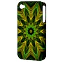 Woven Jungle Leaves Mandala Apple iPhone 4/4S Hardshell Case (PC+Silicone) View3