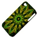 Woven Jungle Leaves Mandala Apple iPhone 4/4S Hardshell Case (PC+Silicone) View4