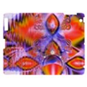 Crystal Star Dance, Abstract Purple Orange Apple iPad 3/4 Hardshell Case View1