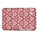 White On Red Damask Samsung Galaxy Tab 2 (7 ) P3100 Hardshell Case  View1
