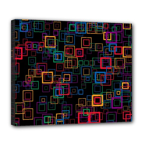 Retro Deluxe Canvas 24  x 20  (Framed)