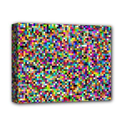 Color Deluxe Canvas 14  x 11  (Framed)