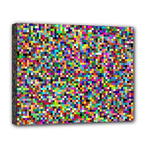 Color Deluxe Canvas 20  x 16  (Framed)