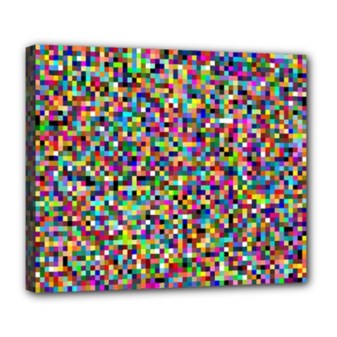 Color Deluxe Canvas 24  x 20  (Framed)