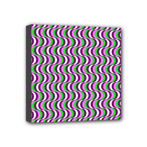 Pattern Mini Canvas 4  X 4  (framed)