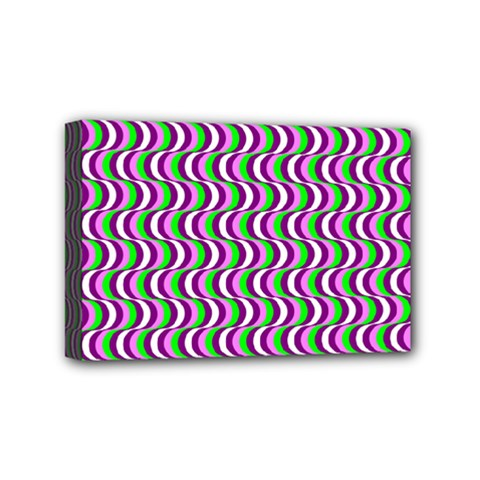 Pattern Mini Canvas 6  x 4  (Framed)