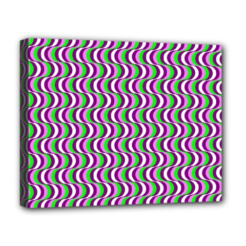 Pattern Deluxe Canvas 20  X 16  (framed)