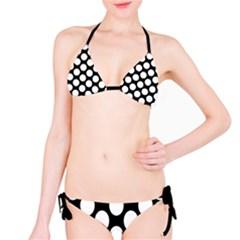 Black And White Polkadot Bikini