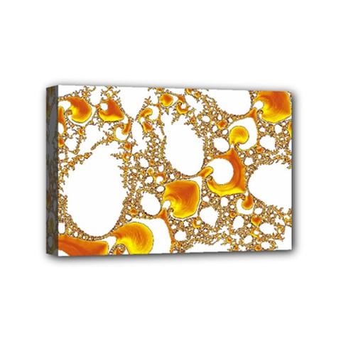 Special Fractal 04 Orange Mini Canvas 6  X 4  (framed)