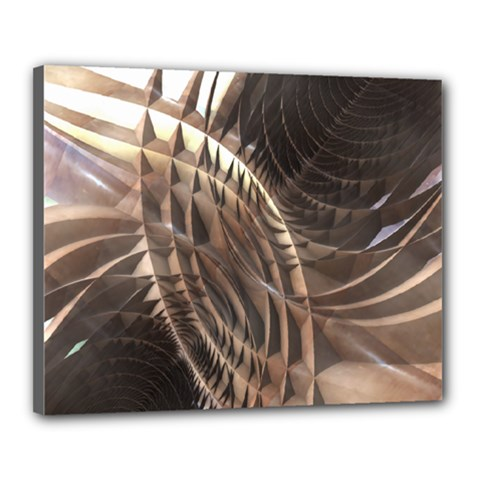 Copper Metallic Canvas 20  x 16  (Stretched)