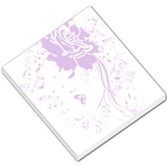 Purple Woman Small Memo Pad