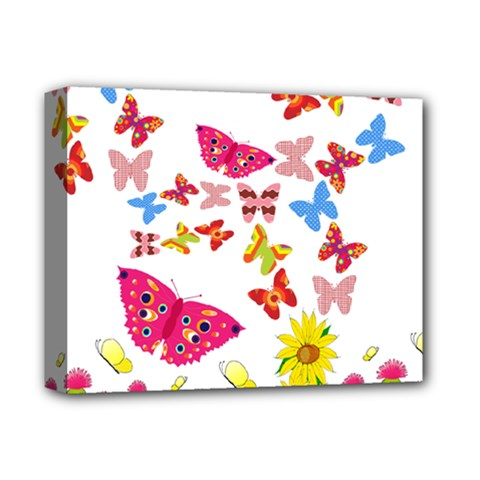 Butterfly Beauty Deluxe Canvas 14  x 11  (Framed)