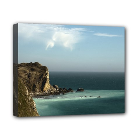 Dramatic Seaside Picture Canvas 10  X 8  (stretched)